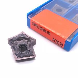 Image 4 - 고품질 CNMG120404 CNMG120408 HA PC9030 스테인레스 스틸 용 외부 선삭 공구 초경 인서트