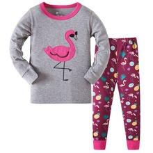 Модель 100% детские пижамы для девочек 3 8 лет Рождественская
