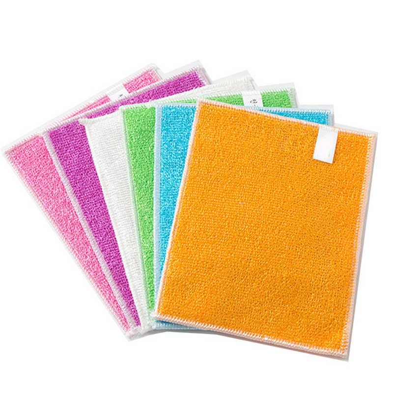 גבוה יעיל נגד גריז צבע בד צלחת במבוק סיבי כביסה מגבת קסם מטבח ניקוי ניגוב סמרטוטי wh