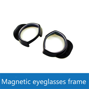 Image 2 - 1Pair ABS Eyeglass Frame For Sony Ps4 PS VR Headset Lens Protection Frame Quick Disassemble without Lens VR glasses Accessories
