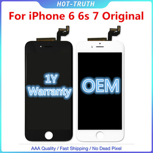 Image 1 - 1:1 OEM Chất Lượng Ban Đầu Màn Hình Cảm Ứng Cho iPhone 6 6S 6SP 7G Màn Hình Hiển Thị LCD Bộ Số Hóa Aseembly Có Logo
