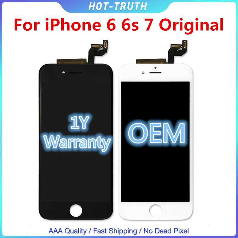 1:1 OEM Qualität <font><b>Original</b></font> Touch Screen Für <font><b>iPhone</b></font> 6 <font><b>6S</b></font> 6SP 7G LCD <font><b>Display</b></font> Digitizer Aseembly mit Logo image