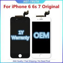 1:1 Oem Kwaliteit Originele Touch Screen Voor Iphone 6 6S 6SP 7G Lcd scherm Digitizer Aseembly Met Logo