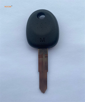 RIOOAK 5 sztuk wymiana Uncut klucz samochodowy klucz pusty Shell pokrowiec na Hyundai Accent Tucson Elantra Santa Fe i10 klucz nie Chip z HYN10 tanie i dobre opinie without CN (pochodzenie) ABS+Metal 0 1kg For Hyundai Accent Tucson Elantra Santa Original Car Key Case Size Hyundai transponder key shell