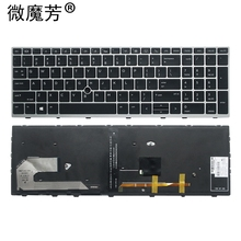 NEW US laptop keyboard FOR HP 850 G5 855 G5 755 G5 750 G5 US