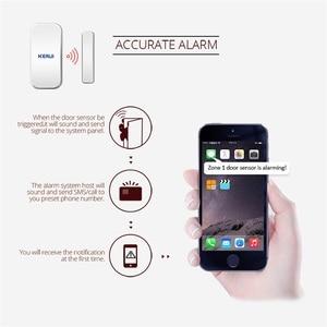 Image 5 - 25 stücke Kerui Home Alarm Drahtlose Tür Fenster Magnetische Detektor Lücke Sensor Für GSM Wifi Home Security Alarm System Touch tastatur