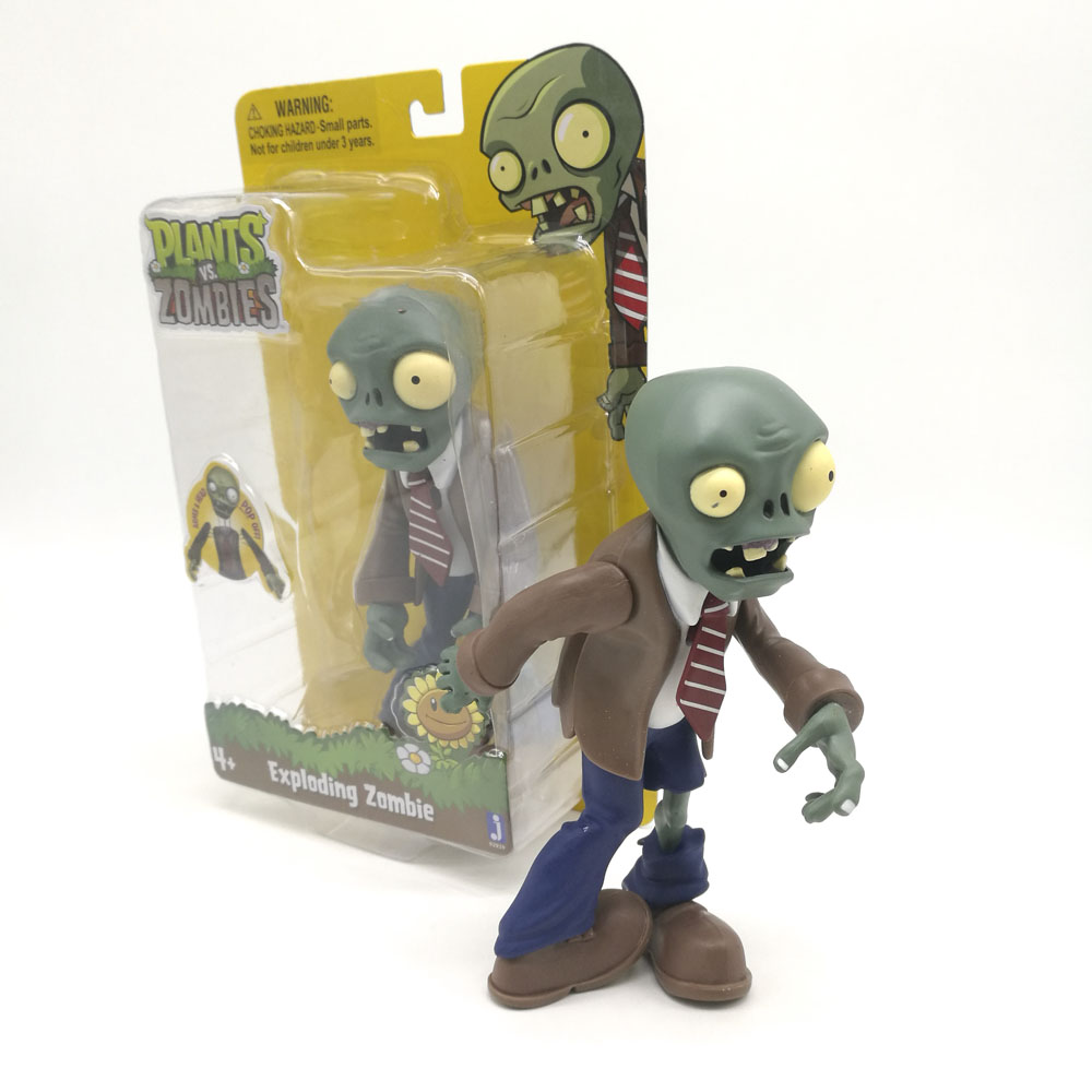 Plants Vs Zombies Action Figure Assembled Big Mummy Exploding Zombie Toys PVC Model Toy Gifts For Children