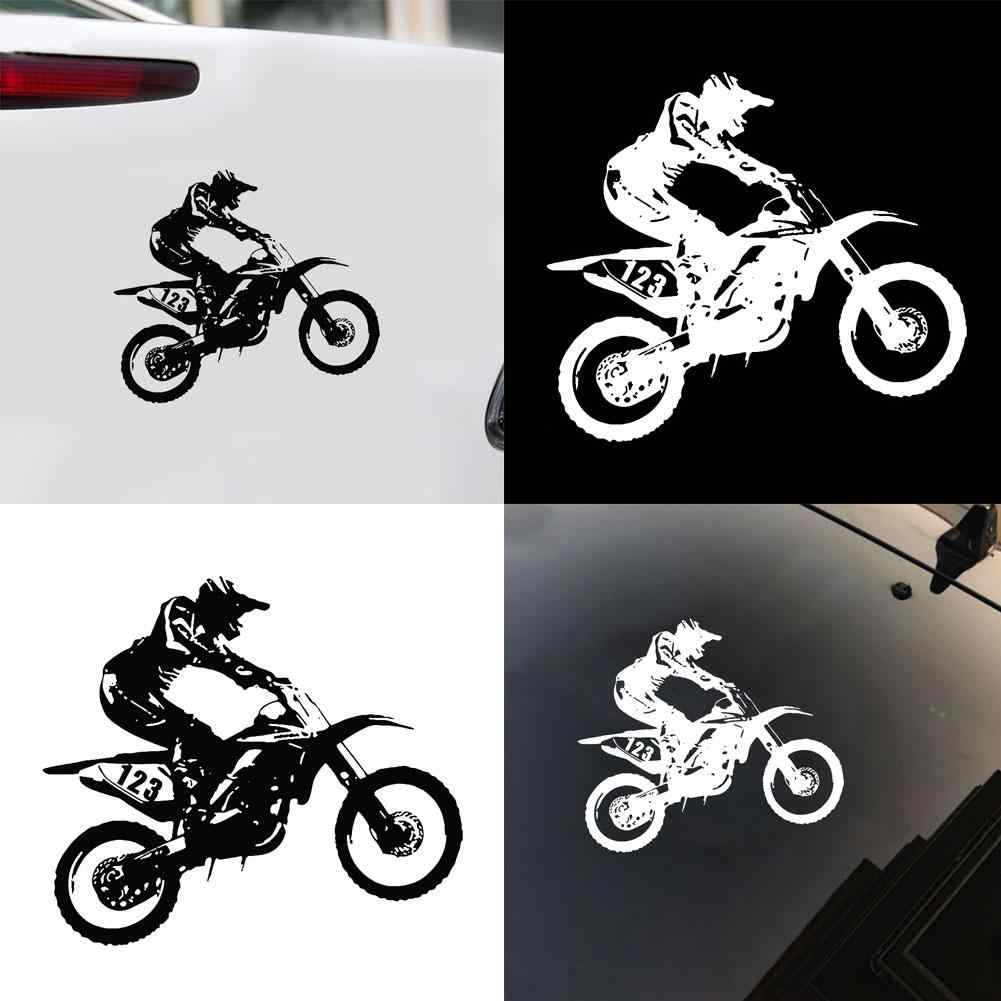 Motocross Stunts Motorfiets Reflecterende Auto Vrachtwagen Voertuig Decals Sticker Decor Motorfiets Auto Vrachtwagen Voertuig Decals Sticker Decor