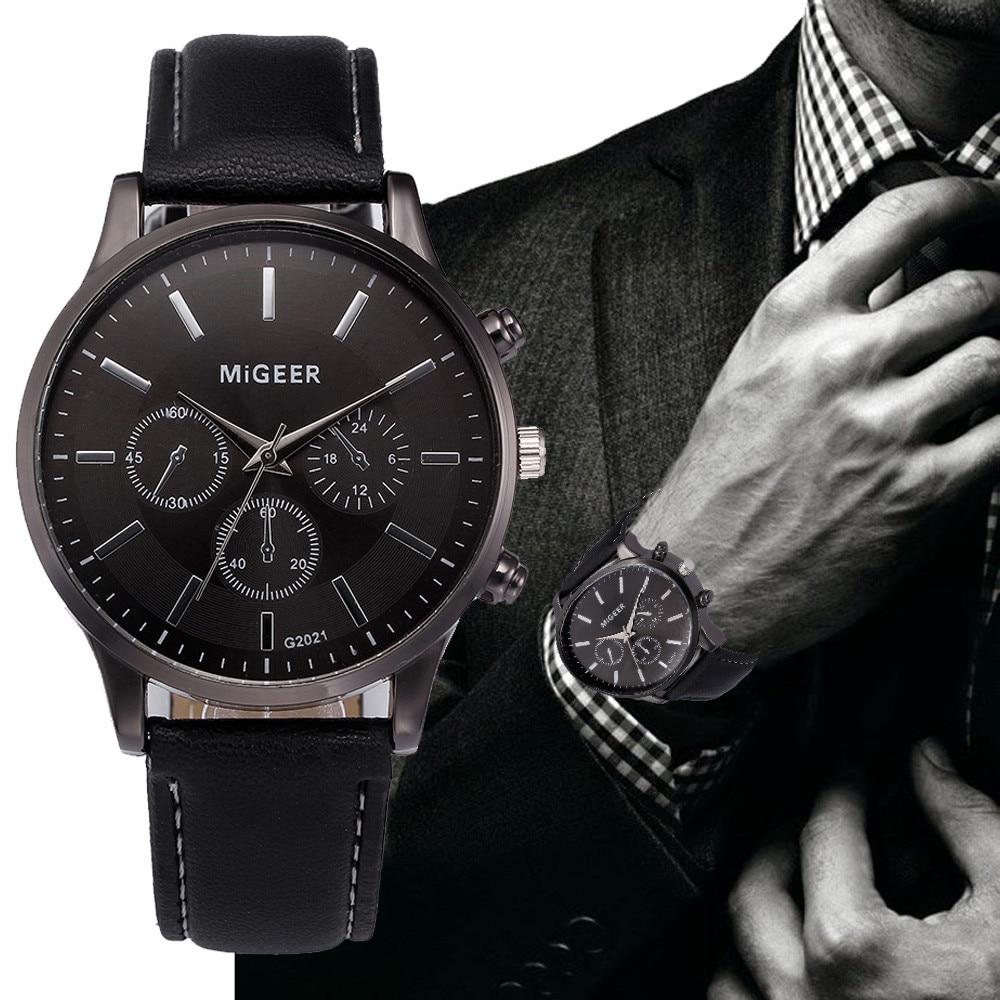 DUOBLA Watch Men Mens Watches Top Brand Luxury 2020 Wristwatch Wrist Watch Retro Leather Band Quartz Watches Clock Gold Reloj