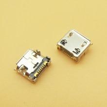 50 ピース/ロットをサムスン I929 S6802 S6352 S239 micro usb charge charging connector plug ドックソケットポート