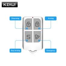 Беспроводной пульт дистанционного управления KERUI, брелок с датчиком для сенсорной клавиатуры, GSM, PSTN, Wi-Fi, 2G, 3G, домашняя охранная сигнализаци...