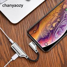 2 in 1 Audio Adapter for iphone  3.5mm Charging Call Original Headphone AUX Splitter Connector for iphone 6 7 8 Plus X XS MAX XR стоимость