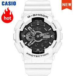 Мужские часы Casio, G-SHOCK, роскошные, водонепроницаемые, спортивные, кварцевые, светодиодный, цифровые, военные, мужские часы, relogio masculino