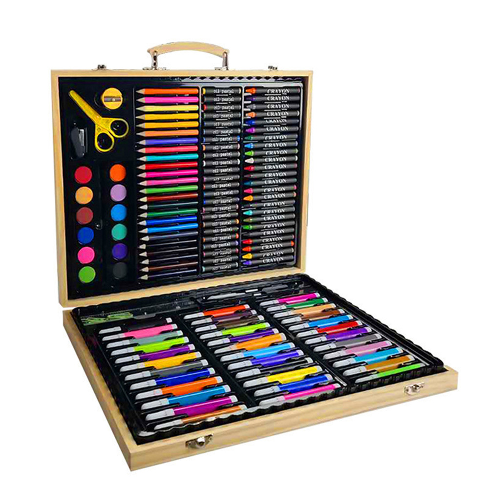 Children Pencils Crayon Stationery Office Sketching Storage Case Painting Brush Student Art Set Watercolor Pen For Drawing #5