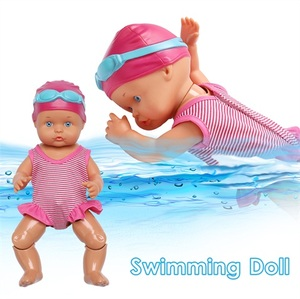 New Arriving Electric Dolls Joint Movable Dolls Waterproof Swimming Doll Kid Girls Toy Swimming Water Doll Best Gift Toy For Kid