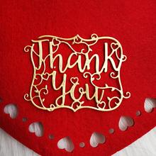 Thank You Metal Cutting Dies for Scrapbooking