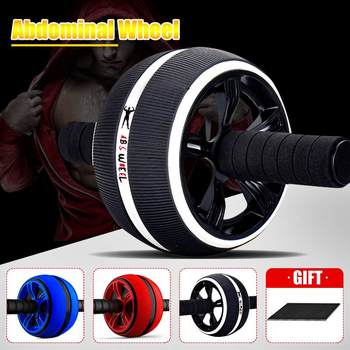 Abs Roller big Wheel Abdominal Muscle Trainer For Fitness No Noise Ab Roller Wheel Workout