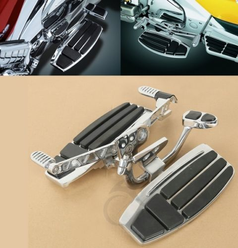 Motorcycle Driver Foot Board Floorboard Kits For Honda Goldwing GL1800 & F6B 01-18 Valkyrie 14-15
