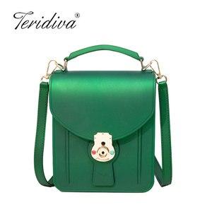 Fashion Colorful PVC Bag Women