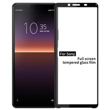 Tempered Glass Screen Protector Film For Sony xperia 1 10 ll