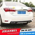 Для Corolla Body kit спойлер 2014-2016 для Toyota Corolla ABS задний спойлер передний бампер диффузор защитные бамперы