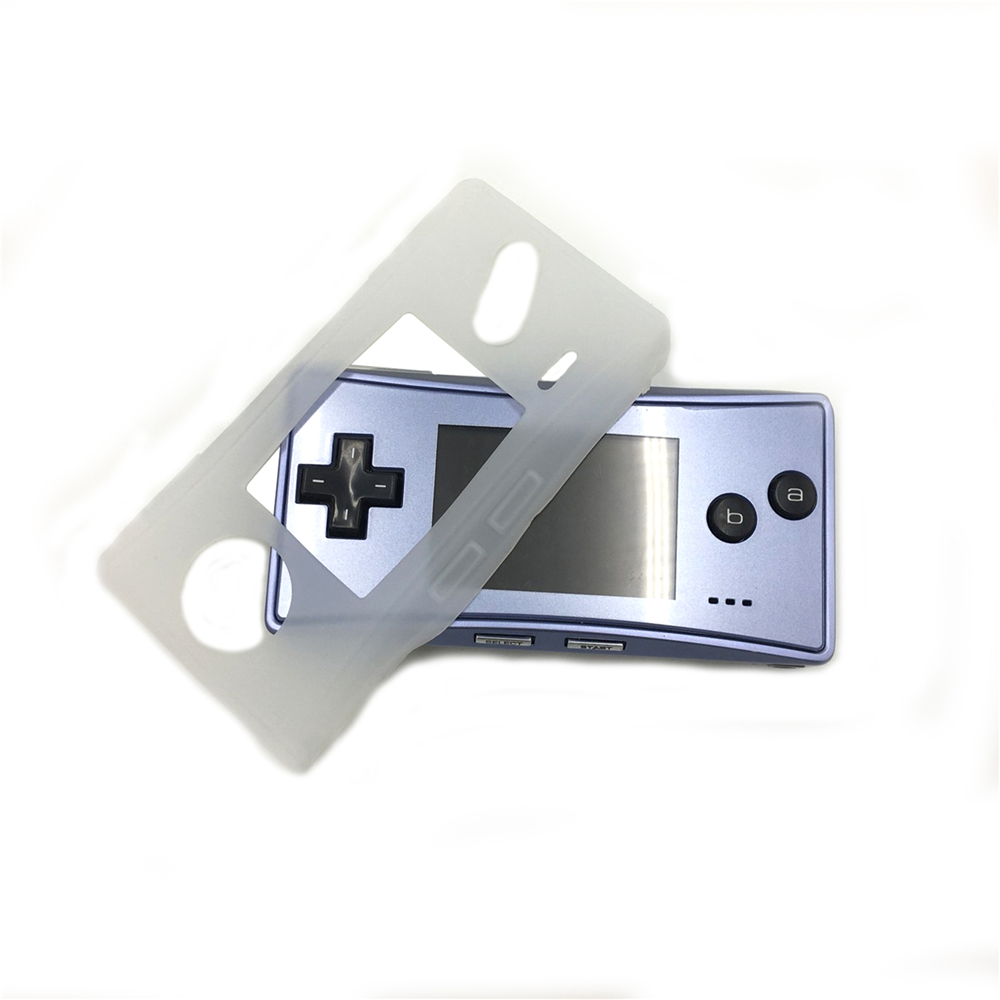 Soft TPU Protective Shell For Nintend <font><b>GBM</b></font> Console Transparent Shell <font><b>Case</b></font> Cover for <font><b>GBM</b></font> Game Controller Scratchproof <font><b>Case</b></font> Cover image