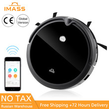 IMASS Sweeping Robot Wireless Vacuum Cleaner Home Smart Sweeper Mobile APP Remote Control Mini Camera Intelligent Voice Command(China)