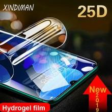 XINDIMAN 25D Full hydrogel Film for huawei nova5 5i Protective-glass Nova5pro screen protector Nova5ipro soft