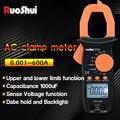 Мультиметр-зажим RuoShui 606A  Автоматический диапазон  измерение NCV большой емкости  Измеритель постоянного/переменного напряжения и переменно...