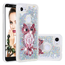 Luxury Phone Cases For Google Pixel 3a XL Case Liquid Quicksand  Glitter Bling Sequin Painted Soft TPU Back Cover Coque Gifts