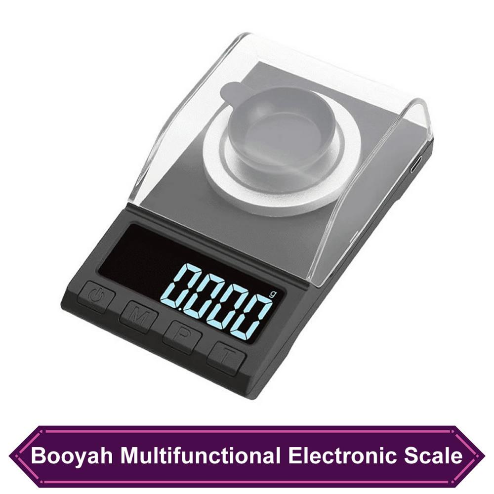 50g//100g Electronic Scales LCD Digital 0.001g Portable Jewelry Milligram Scale