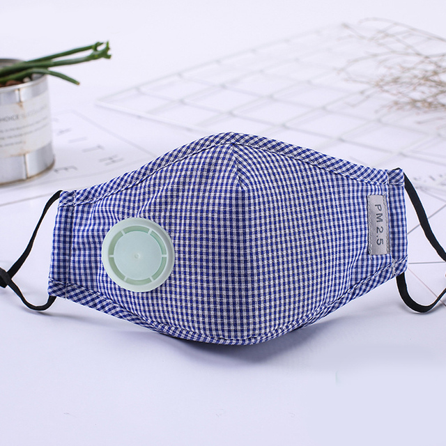 N95 Coronavirus Cotton Mask Anti Virus Dust Resuable Pm2.5 Activated Carbon Filter Insert Earloop Respirator Face Mask 2