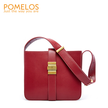 POMELOS Fashion New Luxury Brand Handbags Women Bags Designer Excellent Quality Leather Shoulder Crossbody Bags For Women Ladies