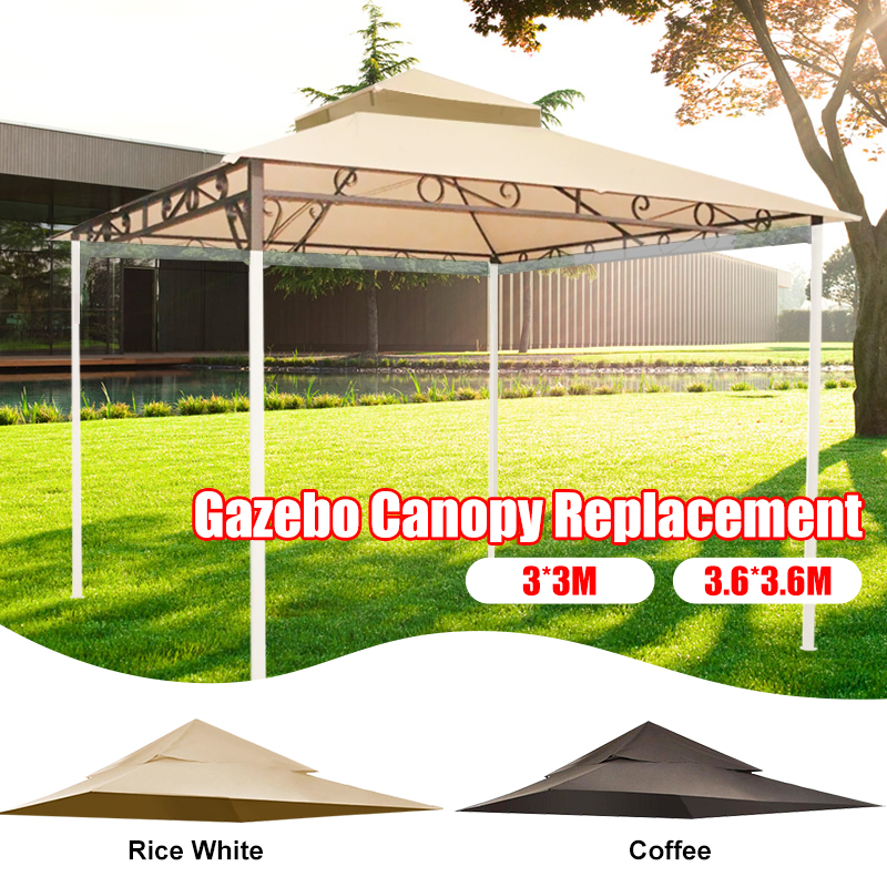 Outdoor Waterproof Gazebo Canopy Top Replacement 2 tier Cover for Madaga Frame  High Quality Suitable For Backyard Events|  - title=