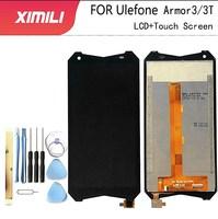 5.7 'New 100% 오리지널 Ulefone Armor 3 LCD 디스플레이 및 터치 스크린 + 필름 어셈블리 Ulefone Armor 3T Phone + Tools 3m