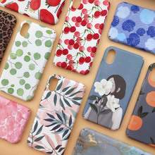 Fashion Matte Phone Cases For iPhone 6 6S 7 7Plus 8 8Plus X