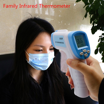 Infrared Thermometer No-contact Digital Thermometers for Forehead Temperature Meter Measuring ALI88
