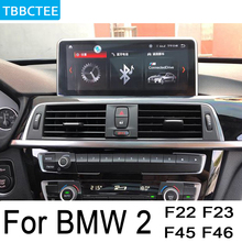 For BMW 2 Series F22 F22 F23 2018~2019 EVO Car Android Radio GPS Multimedia player stereo HD Screen Navigation Navi Media for bmw 2 series f22 f23 2012 2017 nbt car android navigation gps touch hd screen multimedia player stereo display audio radio