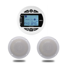 Mp3-Player Speakers Boat Audio Bluetooth-Radio Marine-Stereo Waterproof Motorcycle FM