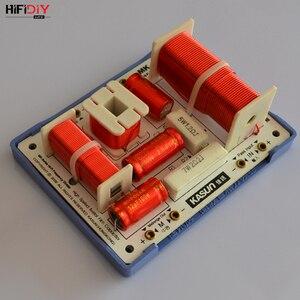 Image 5 - HIFIDIY لايف MK 400C 3 طريقة 4 وحدة مكبر الصوت (مكبر الصوت + منتصف + 2 * باس) HiFi مكبرات الصوت تردد مقسم مرشحات كروس