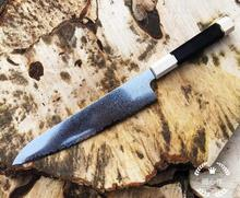 Damascus Pattern Chef Knife 8 inch Kitchen Knives Slicing Wooden Handle