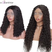 SNOILITE Synthetic Water Wave U Part Lace Front Wig Brazilia