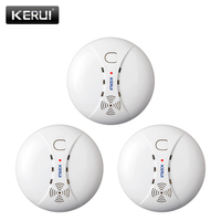 Wireless Smoke Detector Alarm System Alarm Accessories Sensitive Smoke/fire Detector For Home Security Alarm System  433Mhz