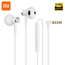 Xiaomi Hybrid Hi-Res Audio DC Seo 3.5mm In-Ear Earphone Wire Control with HD Mic Dual Driver for XIAO Mi 4 5 5S Plus 4C 4S MIX 2(China)