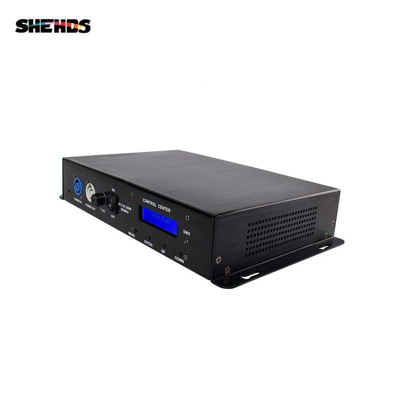 Led Pixel Lighting Decorder Artnet DMX Controller 4 Port Converter Output Channels 3PIN/5PIN Satge DJ Light Control Disco