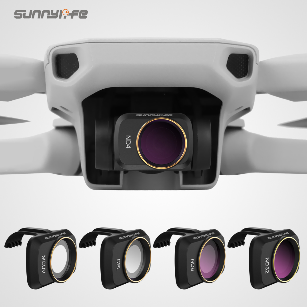 Optional Camera Lens Filter for DJI Spark Filter MC UV CPL ND2 ND4 ND8 N16 ND16 Polarizer Filter for DJI Spark Accessories ND8