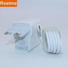 REALME – Chargeur adaptateur d'origine X50 pro, 30 W, charge rapide 5V 6 A, pour smartphone X X2,