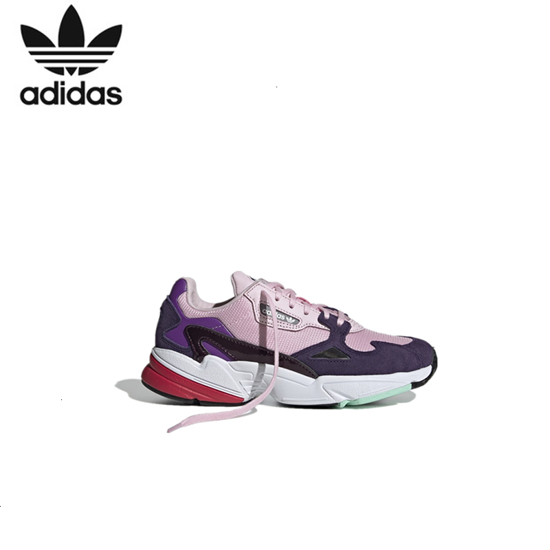 <font><b>Adidas</b></font> Falcon W Woman Classic <font><b>Sneakers</b></font> Woman <font><b>Running</b></font> Shoes New Arrival # Bd7825 image