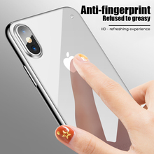 10D Luxury Tempered Glass Case For Apple iPhone 7 8 Plus iPhone 7 6 6s Case Capinhas Cover Coque For iPhone XS MAX XR X 10 Case oppselve breath case for iphone x 7 6 6 s plus luxury ultra thin slim hard pc cover case for iphone x ix coque fundas capinhas