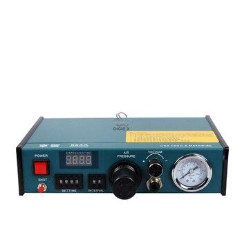 цена на 983A Professional Precise Digital Auto Glue Dispenser Solder Paste Liquid Controller Dropper 220V